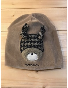Cappellino Nanan tortora...