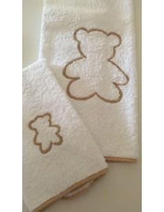 Coppia asciugamani in...