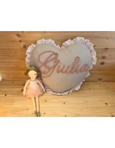 Cuscino personalizzato Giulia