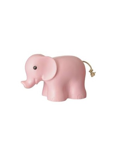 Lampada elefante rosa