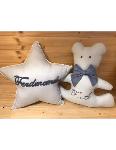 Cuscino a stella  personalizzato
