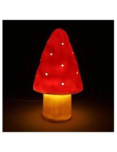 Lampada fungo piccolo rosso