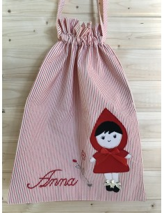 Sacchetto cappuccetto rosso