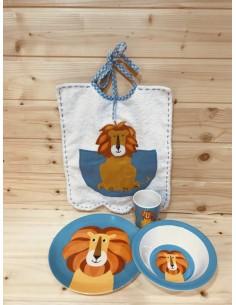 Set piatti leone