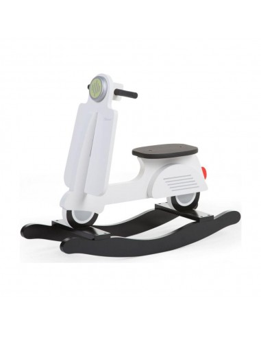 Scooter a dondolo bianco