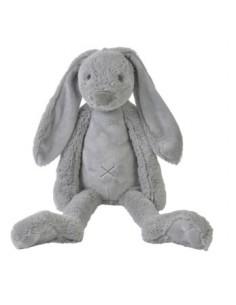 Coniglio peluche grigio