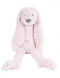 Coniglio peluche rosa