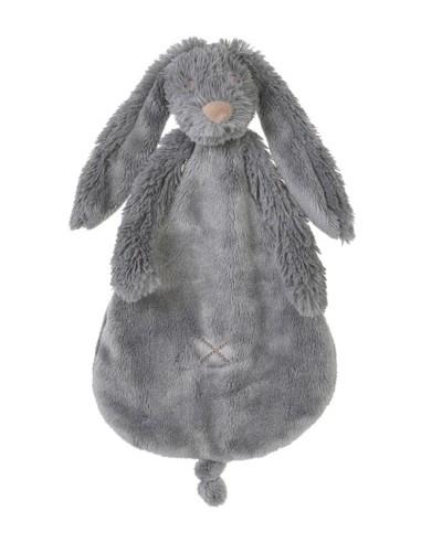 Doudou coniglio grigio scuro