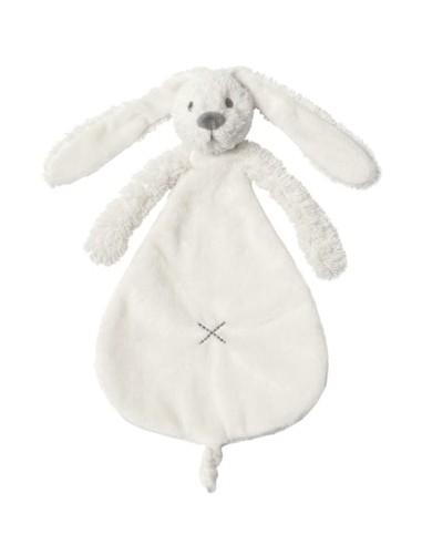 Doudou coniglio bianco