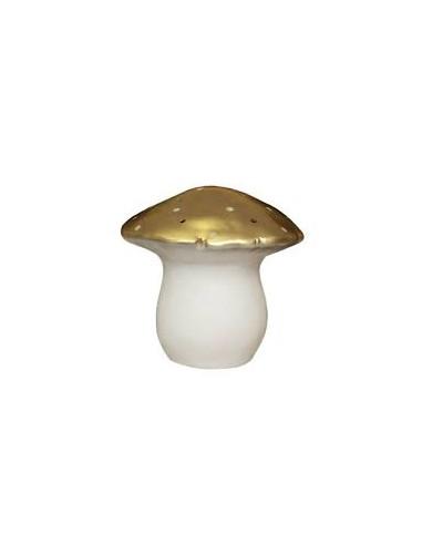 Lampada fungo grande oro