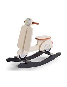 Scooter a dondolo beige