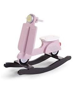 Scooter a dondolo rosa