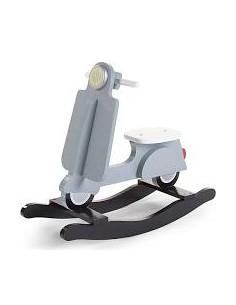 Scooter a dondolo celeste