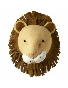 Testa leone decorativa