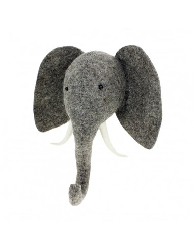 Testa decorativa elefante